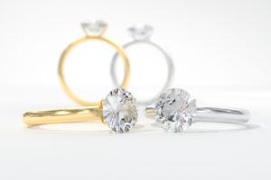 Princess Wedding Ring Sets