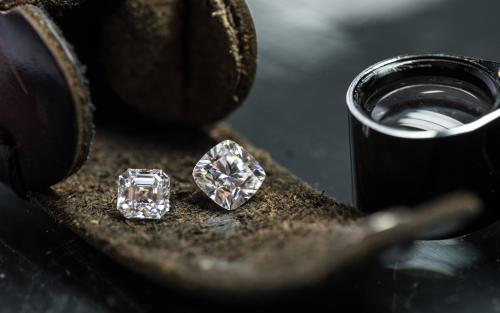 The Vibrant Chocolate Diamonds