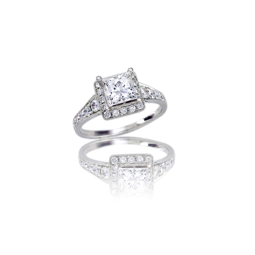 The Three Stone Engagement Ring